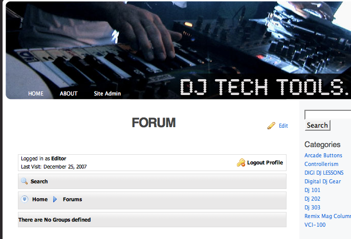 Is it time to build       a forum? - DJ TechTools