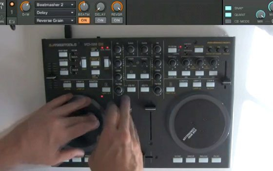 create instant drum fills traktor
