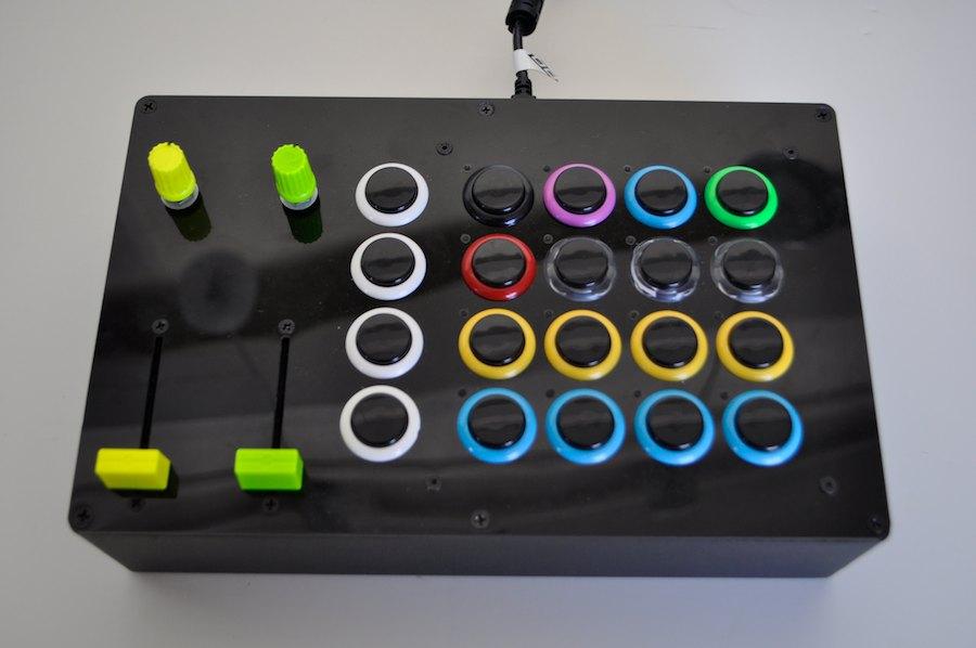 Midi Deck Controller Midi Controller Axe