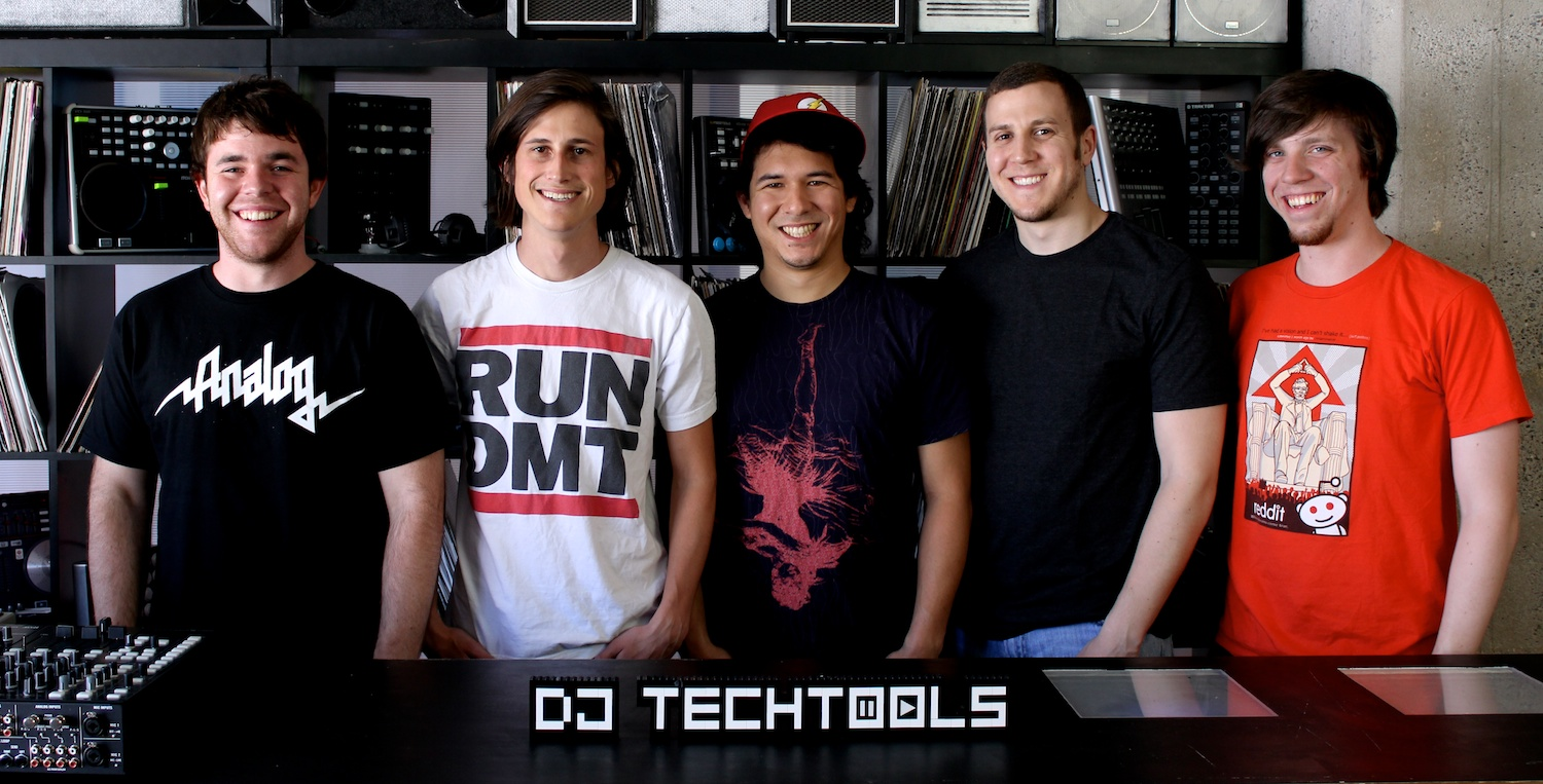 DJ TechTools staff group shot