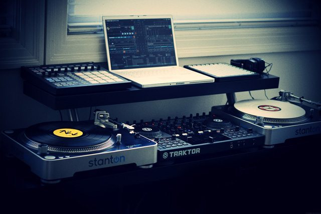 How to: create a professional dj booth from ikea parts. dj techtools