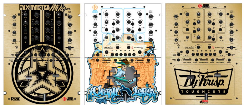 Custom Mixer Designs by 12-Inch Skinz