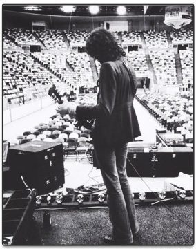 Led Zeppelin's Jimmy Page - photo: Neal Preston