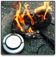 headphones-on-fire