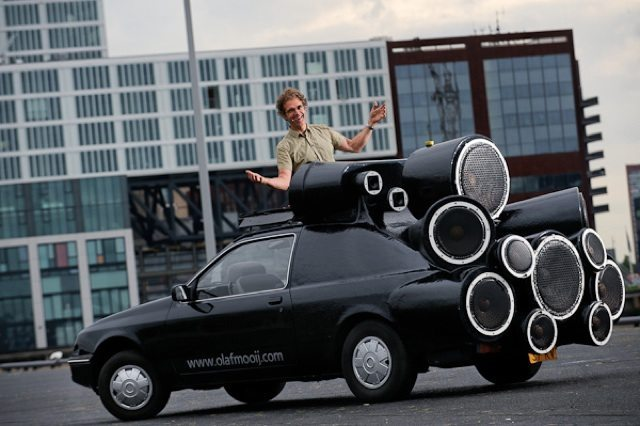 The ultimate mobile DJ (photo credit Olaf Mooij)