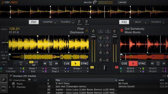 logiciel mixvibes pro 7