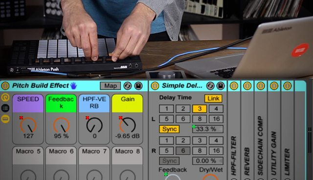 How To Create A Pitch Build Effect In Ableton - DJ TechTools