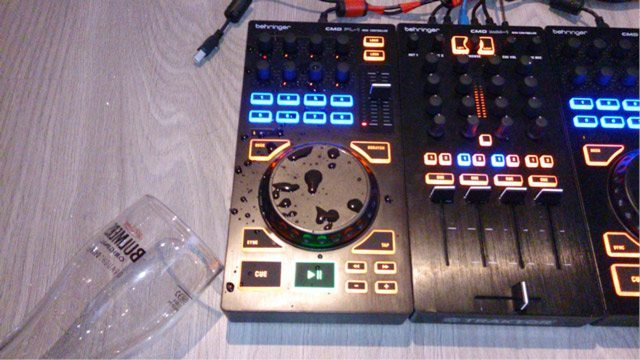 What to Do If You Spill Beer or Booze on Your Mixer, Laptop