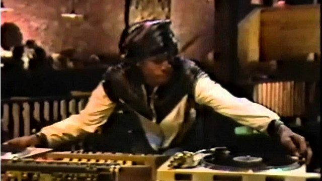 Grand Master Flash shows us how to scratch back in 1983.