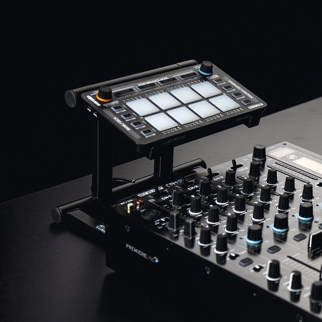 The Reloop Neon is a low profile Serato DJ controller for full effects control.