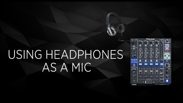 Using Headphones as a Mic