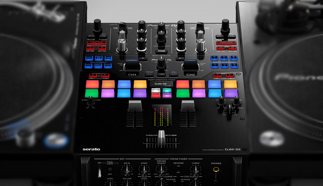 First Look: Pioneer's DJM-S9 Mixer, PC-X10 Cartridges + Gold Plated