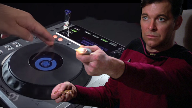 phaser effect and will riker