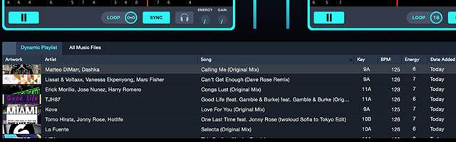 Flow Playlists