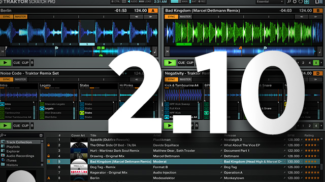 Traktor 2 10 Out Now: Kontrol S5 Support, Dual Aux Inputs