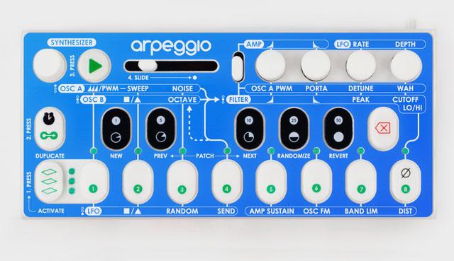 Arpeggio Synthesizer