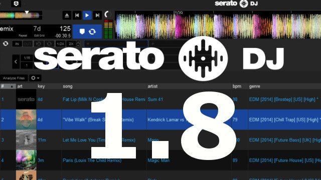 Serato DJ 1.8