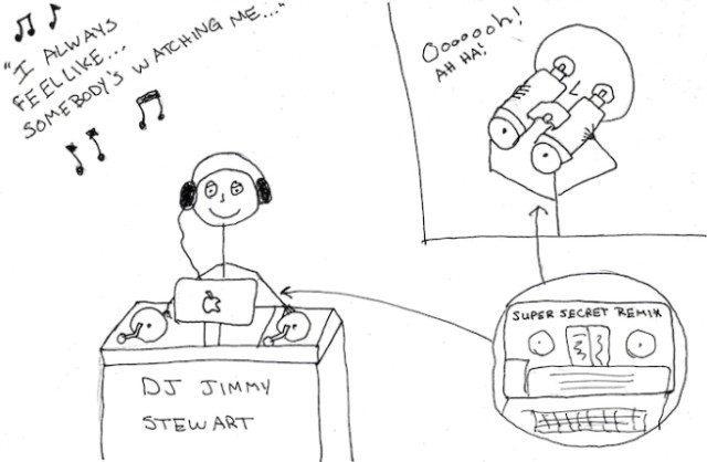 Trainspotting cartoon via Stuff DJs Hate