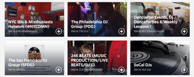 local DJ meetups