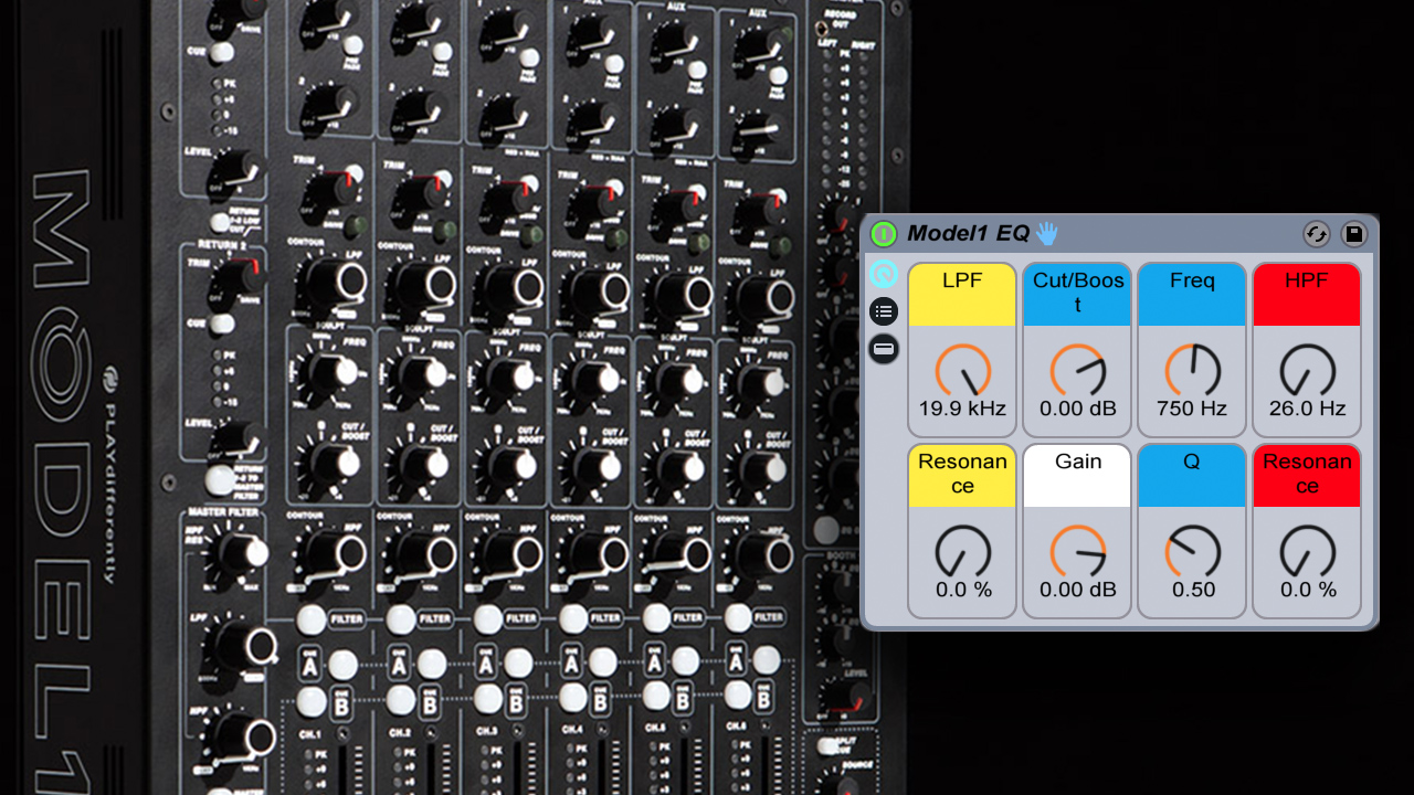 Recreating The EQ Section Of Richie Hawtin's Model 1 Mixer In