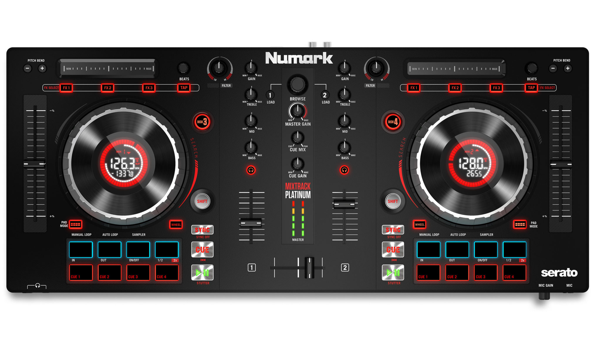 start djing now five great entry level dj controllers under 400 dj techtools. Black Bedroom Furniture Sets. Home Design Ideas