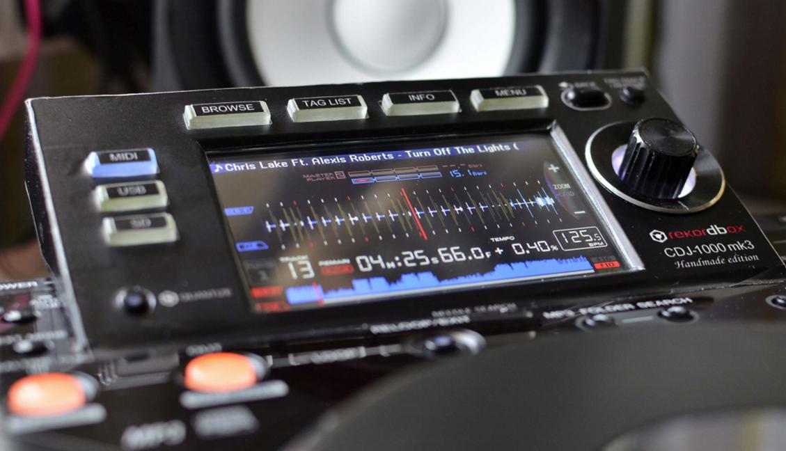 DIY: Upgrade A 12 Year Old CDJ-1000MK3: SD Card, RGB