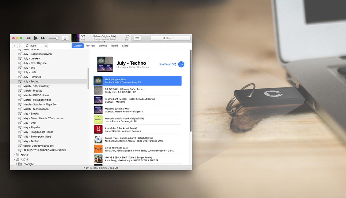 Move Your iTunes Playlists To Any USB Drive - DJ TechTools
